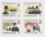 Марки Гибралтара 4 шт., фото №2