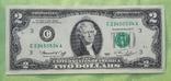 2$ 1976 год, юбилейная - 200 лет подписания Декларация независимости США