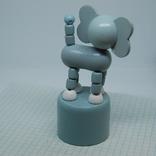 Слоник. Танцующий. 100мм, фото №5
