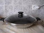Сковородка с крышкой диметр 30 см