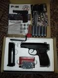 Новий Пневматический пистолет+5балонов и пули