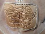2 бейсболки кожаные Harley Davidson