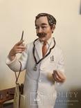 """Эксклюзивная фарфоровая статуэтка ручной работы La Medea «Doctor"""""""