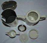 Кофейник,молочник,сахарница, в термокапсусе., фото №4