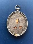 Серебряная икона Александры