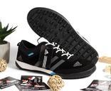 0086 Кроссовки ADIDAS Цвет черный 42 размер 26.5 см стелька