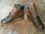Timberlend - кожаные ботинки разм.40