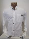 Модная мужская приталенная рубашка Jak j Jons оригинал НОВАЯ