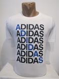 Модная мужская футболка Adidas оригинал КАК НОВАЯ