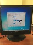 Компьютер в комплекте с мониторм, мышкой и клавой