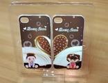 Комплект чехлов на iPhone 4 для влюбленных (№25)