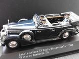 Автомобиль STARLINE Lansia Astura IV Ministeriale, Vittorio Emanuele III (1938)