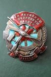 Знак за активную оборонную работу ОСОАВИАХИМ № 12 photo 2