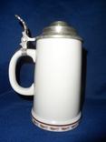 Коллекционная пивная кружка фарфор ГДР Фазаны photo 4