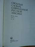 Сводный словарь современной русской лексики (2 тома), фото №4