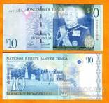 Тонга 10 паанга 2008 UNC ПРЕСС, фото №2