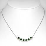 Ожерелье с натуральными хромдиопсидами, фото №2