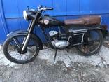 Ретро мотоцикл М-104 (1966 г.) На ходу. photo 1