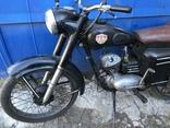 Ретро мотоцикл М-104 (1966 г.) На ходу. photo 2