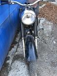 Ретро мотоцикл М-104 (1966 г.) На ходу. photo 7