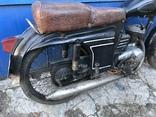 Ретро мотоцикл М-104 (1966 г.) На ходу. photo 9