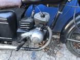 Ретро мотоцикл М-104 (1966 г.) На ходу. photo 10