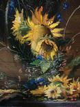 """""""Соняшники"""" 40х50 см;полотно,олія,Півень С.В. photo 4"""