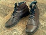 New Territory - кожаные ботинки разм.43