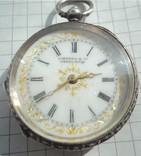 Часы карманные Швейцария J. Myers & Co 1890 г. серебро + бонус