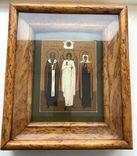 """Икона """"Священномученик Антипа,Ангел Хранитель,Священномученица Параскева"""", фото №2"""