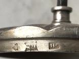 Сахарница. Сазиков. Серебро 84 проба, чернь, 1851 год, фото №9