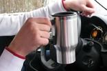 Автомобильная термокружка с подогревом от прикуривателя. photo 6