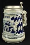 Коллекционная пивная кружка. Bayern. Ручная работа. Германия. (0751) photo 1