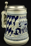 Коллекционная пивная кружка. Bayern. Ручная работа. Германия. (0751) photo 4