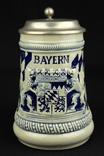 Коллекционная пивная кружка. Bayern. Ручная работа. Германия. (0751) photo 5
