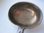 Половник серебренный 1892 г Клейма .позолота photo 6