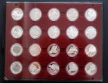 Полный Набор 100 Шиллингов 1991-2001 + Две 200 Шиллинговые Биметаллические Монеты, Австрия фото 2