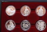 Полный Набор 100 Шиллингов 1991-2001 + Две 200 Шиллинговые Биметаллические Монеты, Австрия фото 5