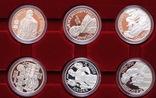 Полный Набор 100 Шиллингов 1991-2001 + Две 200 Шиллинговые Биметаллические Монеты, Австрия фото 6