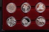 Полный Набор 100 Шиллингов 1991-2001 + Две 200 Шиллинговые Биметаллические Монеты, Австрия фото 7