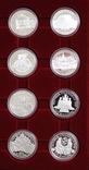 Полный Набор 100 Шиллингов 1991-2001 + Две 200 Шиллинговые Биметаллические Монеты, Австрия фото 10