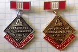 Знак, медаль Украинский республиканский совет ДСО локомотив, спорт ссср, фото №2