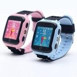 Детские умные часы Smart Baby Watch Q65/G900A/Q528/Q529/Q150/iQ600/T7 синие photo 2