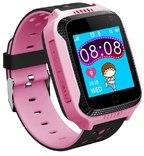 Детские умные часы Smart Baby Watch Q65/G900A/Q528/Q529/Q150/iQ600/T7 розовые
