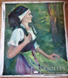 Портрет девушки Холст, масло 55/65см.