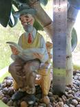 Lefton porcelain , винтажная фарфоровая фигурка дедушки 1980-1990гг 20 века, ручная работа