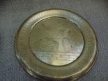 Вінтажні настінні латунні тарілки з Єгипту ручної роботи, фото №4