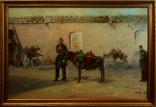 Картина маслом на холсте ′Водовоз′ 2005 г. photo 1