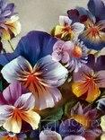 """""""Цветочное настроение"""",Авторская, ручная работа,итальянский холст 50*60см,масло photo 7"""