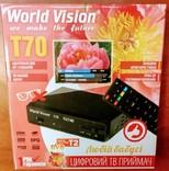 Т2 Тюнер World Vision Т70 *Любій бабусі* photo 1
